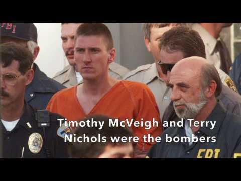 The Oklahoma City bombing, April 19, 1995