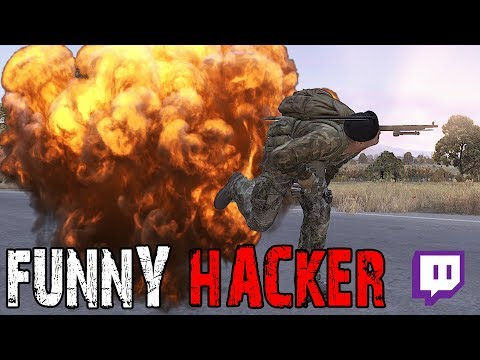 FUNNY HACKER! - DayZ Standalone 0.62 EP19 (Twitch Stream Highlight)