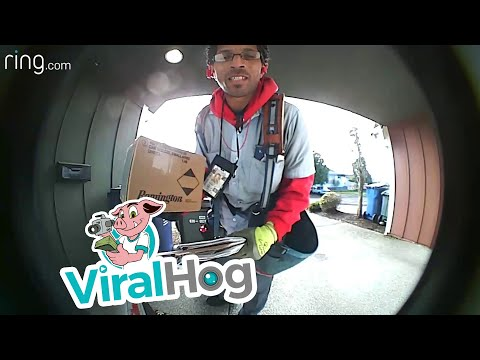 Chase Blog - This Mailman Is Out To Protect Packages!