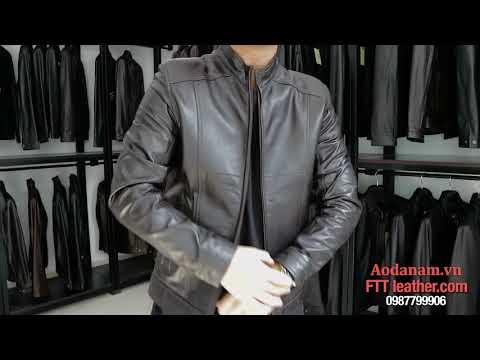 Áo Khoác Da Nam Xịn - FTT Leather