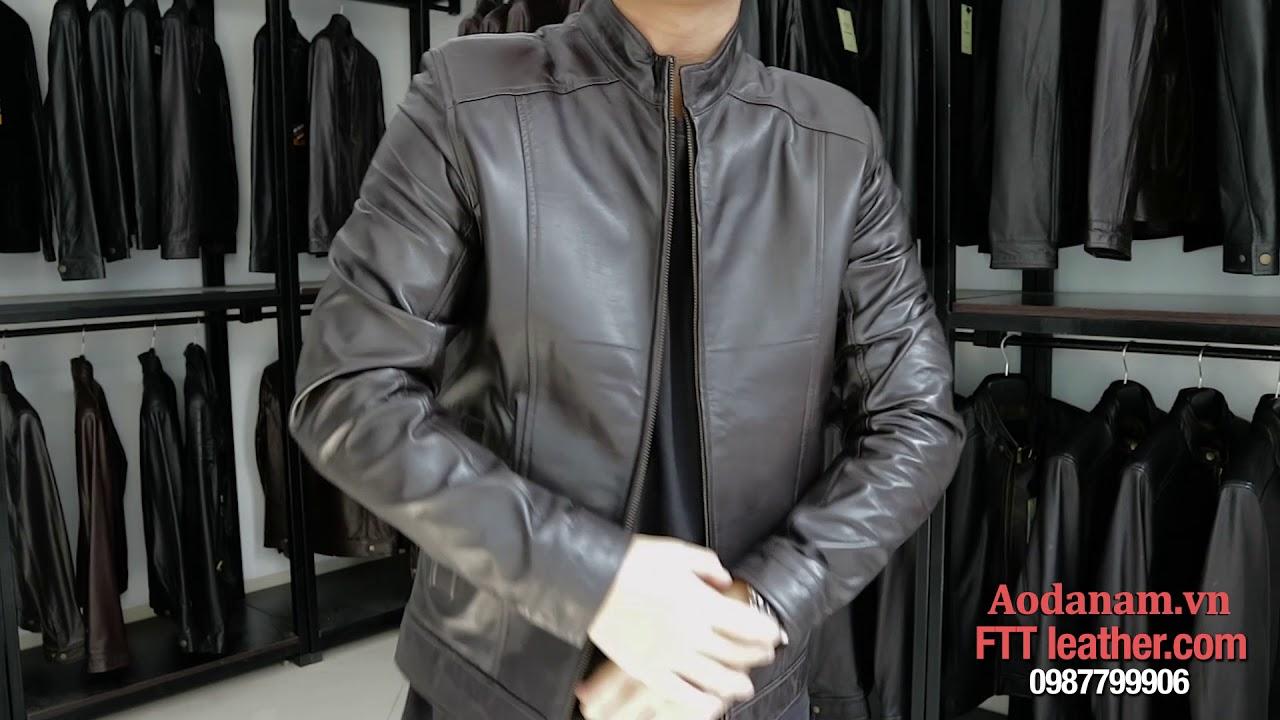 Áo khoác da nam xịn – FTT Leather