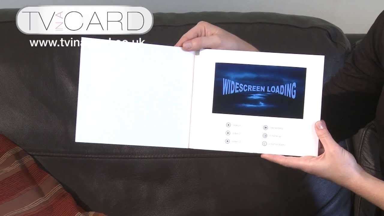 TV in a Card -Video Brochures www.tvinacard.co.uk - YouTube