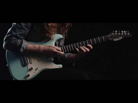 Nick Johnston - Schecter Atomic Green NJ Traditional