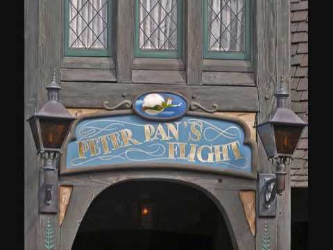 Disneyland Peter Pan's Flight queue music