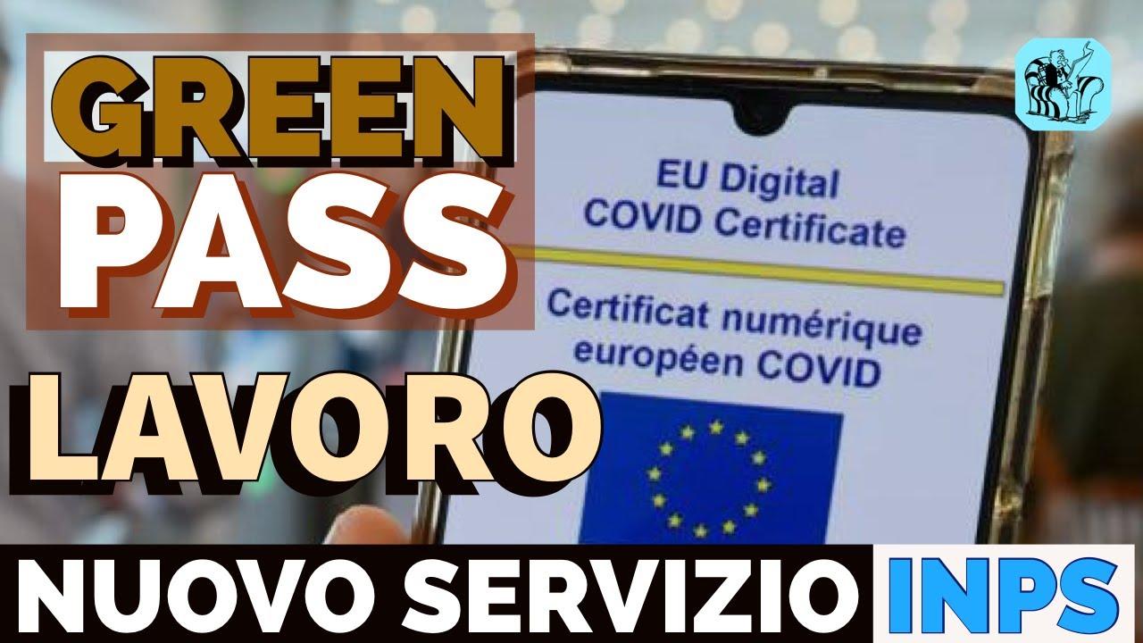 Download VERIFICA GREEN PASS sui LUOGHI DI LAVORO 👉  NUOVO SERVIZIO INPS #GREENPASS