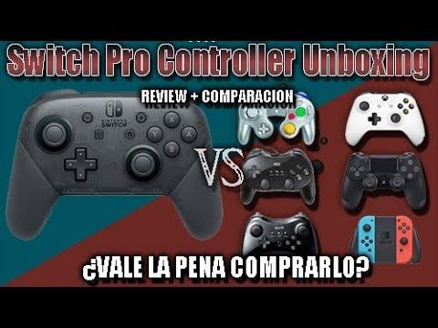 [UNBOXING] Switch Pro Controller - Analisis + Comparación - Vale la pena comprarlo?