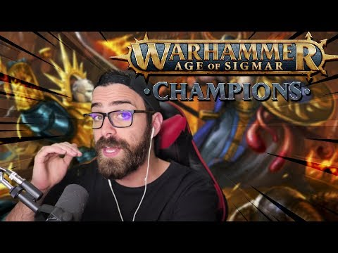 NEW MOBILE DIGITAL CARD GAME! Warhammer Age Of Sigmar Champions!
