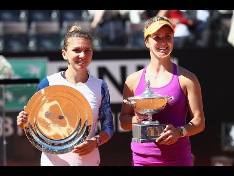 2017 Internazionali BNL d'Italia Final | Elina Svitolina vs Simona Halep | WTA Highlights