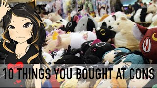 10 Things You Buy at a Convention