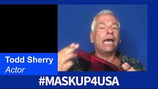 #MaskUp4USA with Todd Sherry from Parks and Recreation!