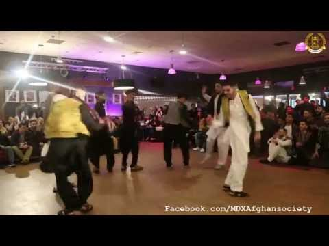 Afghan Students Attan (National Dance) at Midlesex University - London.