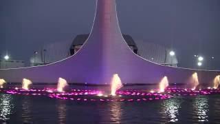 Музыкальный фонтан в Олимпийском парке Сочи
