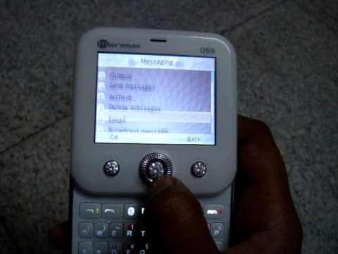 micromax q55 whatsapp