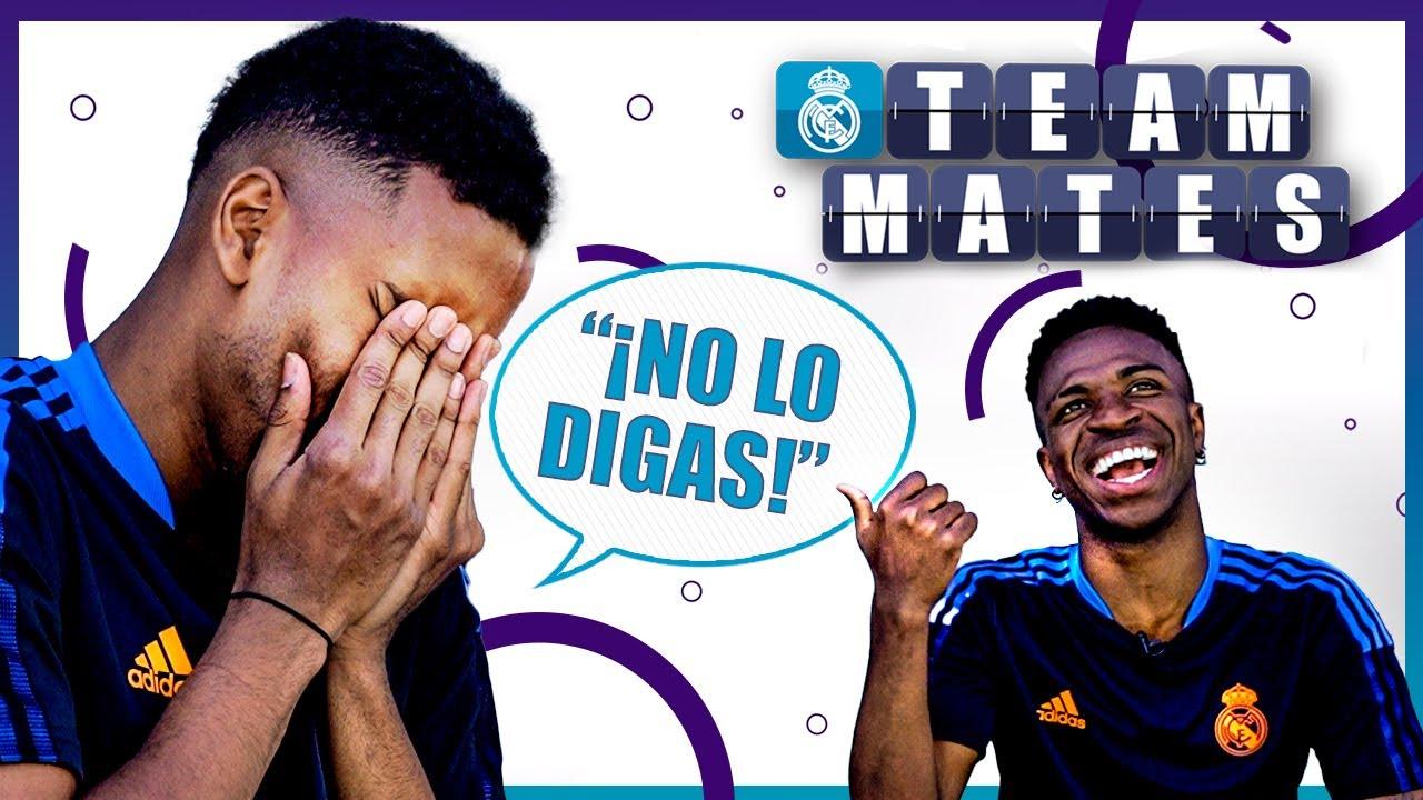 WHO SENDS MORE MEMES? Best SAMBA dancer? | Rodrygo & Vini Jr. Real Madrid