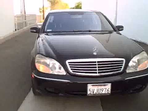 2001 mercedes benz s class youtube for Mercedes benz s class 2001