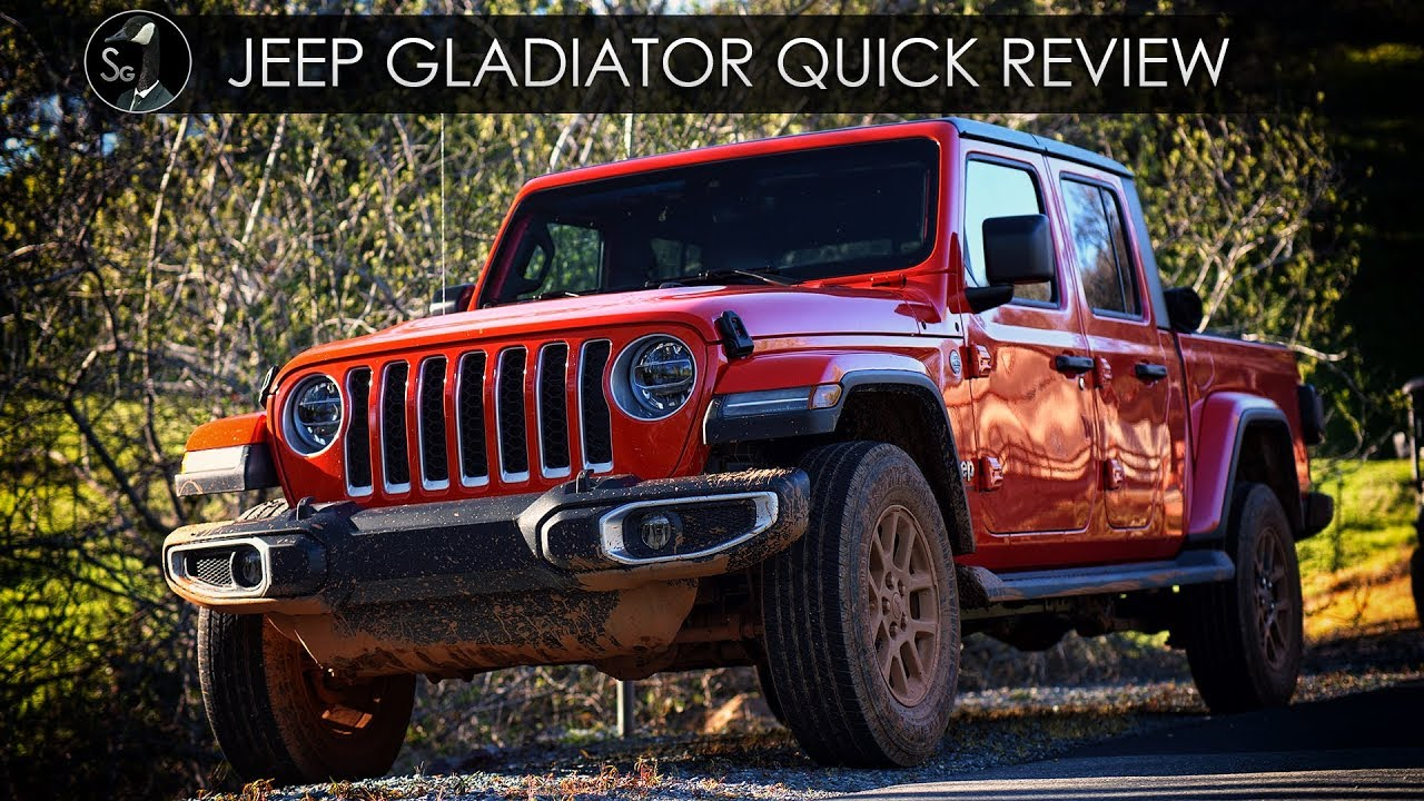 2020 jeep gladiator quick review | code brown - youtube