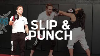 How to Slip and Punch for MMA | Hit & Don't Get Hit | Offensive Defense