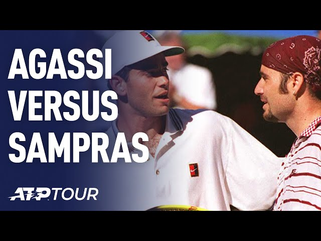 AGASSI V SAMPRAS | RIVALRIES | ATP