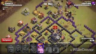 CLASH OF CLANS|| LVL 7 CLAN GEGEN UNS! UNFAIR?|| Let's Play Clash of Clans