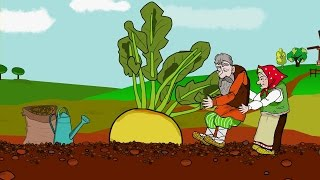 Шалкан (Рус халык әкияте) - Мультфильм Сказка Репка на татарском языке