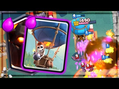Clash Royale - LAVALOON IS BACK! Dominating Air Deck