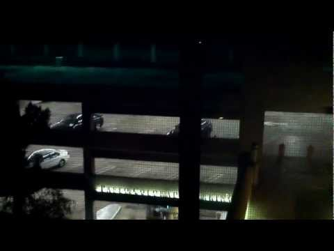 Paseo Colorado Parking - Leaf Blower Video 1