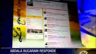 Familia Bucaram arremete con duros términos contra el presidente Correa