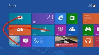 Windows 8 - Touch Screen for Beginners [Tutorial]