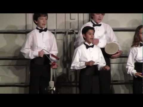 "Neptune Chorus ""A la media noche"" Manhattan Beach Middle School 2012 Winter Concert"