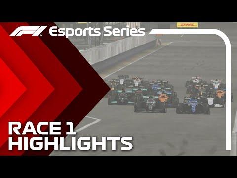 2021 F1 Esports Pro Championship: Race 1 Highlights