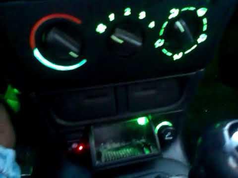 Opel Astra Tuning Dashboard RGB Lighting 4