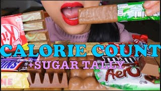 "CALORIE COUNT - Lychee ""ASMR CHOCOLATE CANDY SWEETS 