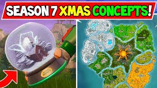 *NEW* 5 FORTNITE CONCEPTS THAT WE NEED IN SEASON 7 (CHRISTMAS UPDATE v7.1) - Season 7 Secrets Needed