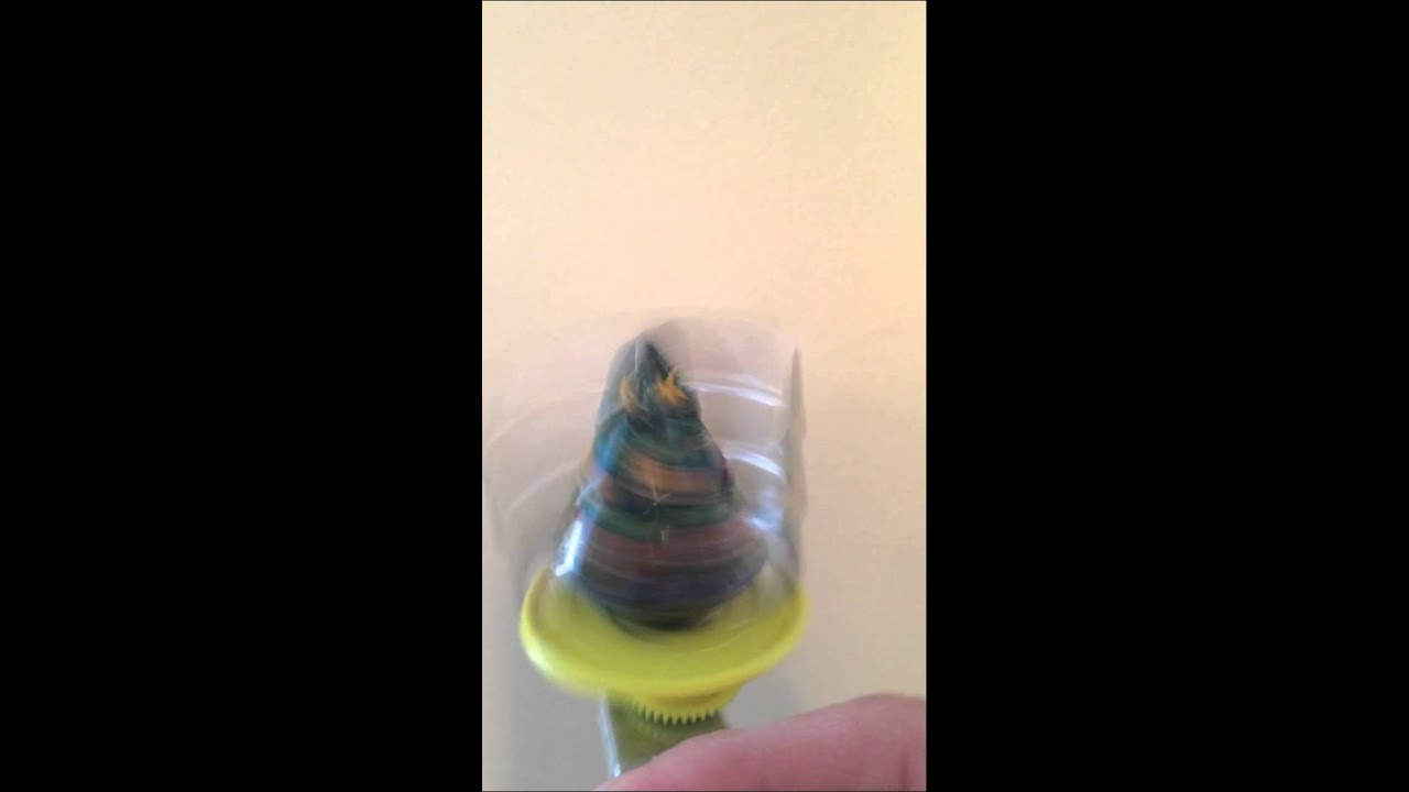 Spinning Christmas Tree Toy - YouTube