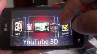 Probando el LG Optimus 3D MAX P720h de Claro