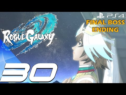 Rogue Galaxy PS4 - Gameplay Walkthrough Part 30 - Final Boss & Full Ending [1080p 60fps]