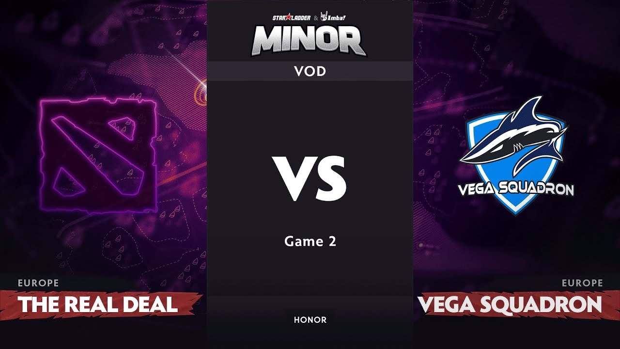 [RU] The ReaL DeaL vs Vega Squadron, Game 2, EU Qualifiers, StarLadder ImbaTV Dota 2 Minor