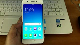 Remove screen lock passcode Oppo F1s A1601