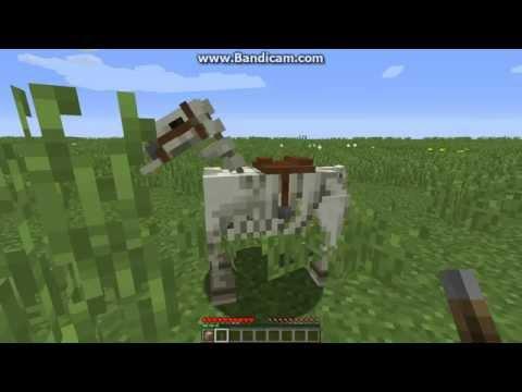 Как сделать зомби лошадь в майнкрафте без модов - Свежие ...