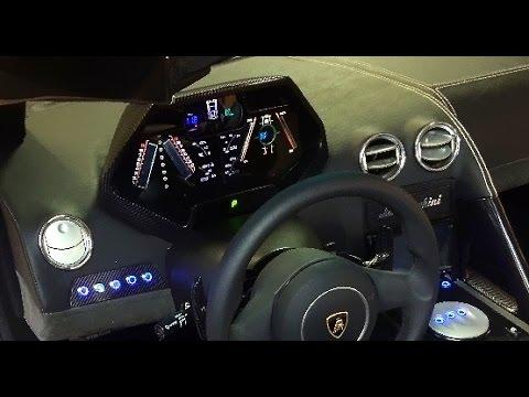 Lamborghini Reventon Replica Gauges In Action Kit Car Dashboard