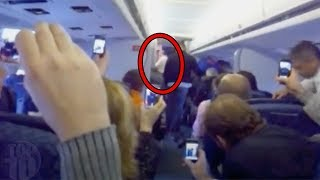 10 Scary Videos Caught on Airplanes
