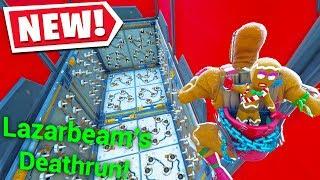 I Played A LAZARBEAM DEATHRUN Map! (Fortnite Creative Mode)