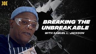Samuel L. Jackson & James McAvoy smashing 'unbreakable' objects!