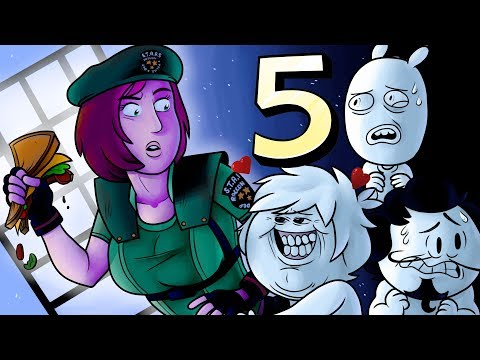 Oney Plays Resident Evil - Ep 5 - Coo Coo Crows