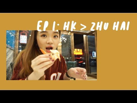 Ep.1: HK to ZhuHai and doing Yoga for Prawns | SingingSpikes Travels