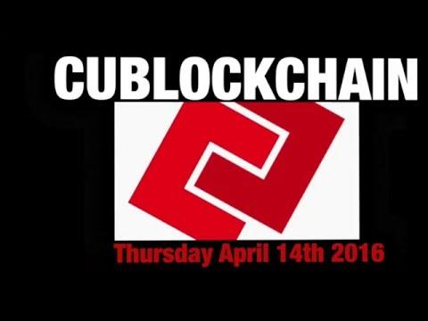 CUBlockchain: An Introduction.