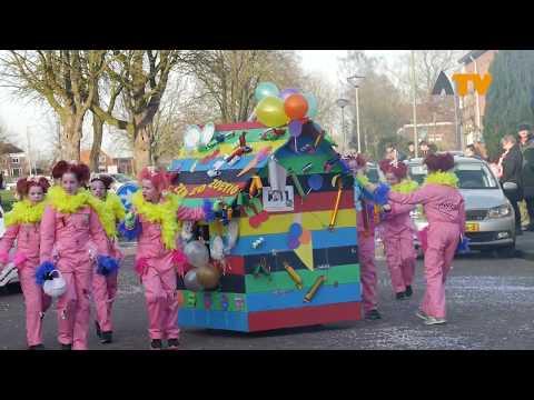 Carnavalsoptocht Dussen 2018 - Altena TV