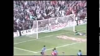 Manchester United v Crystal Palace 1990