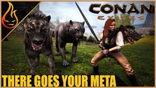 Will The New Pets Change The PVP Meta Conan Exiles 2018 Pet Patch
