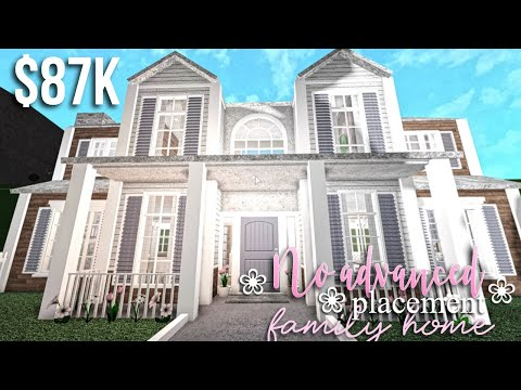 Family House Build Roblox Bloxburg Gamingwithv No Advanced Placement Family Home Roblox Bloxburg Gamingwithv Youtube